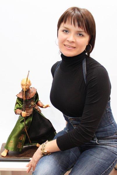 Никифорова Екатерина, Душевное тепло, авторская кукла